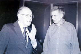 Robert McNamara and Errol Morris