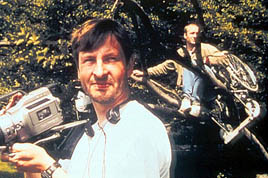 Lars von Trier shooting The Idiots