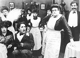 Tillie's Punctured Romance, with Mabel Normand, Charlie Chaplin and Marie Dressler