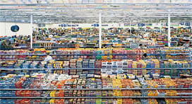 Fig 14: Andreas Gursky's 99 Cent