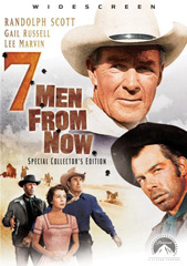 """click to buy """"Seven Men From Now"""" at Amazon.com"""