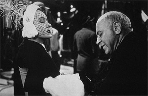 Gloria Swanson and Cecil B. DeMille in Sunset Boulevard