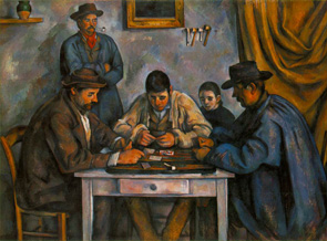 """Cardplayers"" (Paul Cézanne, 1890-1892)"