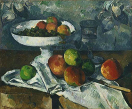 Still Life with Fruit Dish (Paul Cézanne, 1879-80)