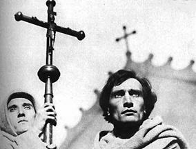 Antonin Artaud in The Passion of Joan of Arc