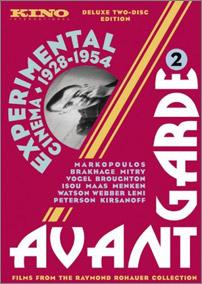 "click to buy ""Avant-Garde 2: Experimental Cinema 1928-1954"" at Amazon.com"