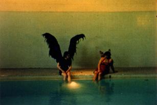 Claire Aguilar and Tinka Menkes in Magdalena Viraga