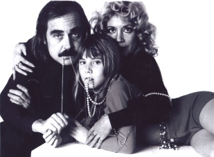 Antoine Bourseiller with his wife, Chantal Darget aka Balkis, and their daughter Marie, early 1970s. Photo courtesy Antoine Bourseiller. All rights reserved.