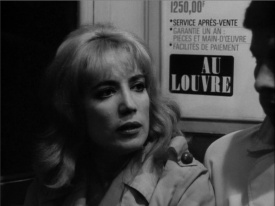 Chantal Darget (aka Balkis) in Masculin Féminin