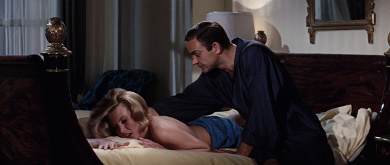 Patricia Fearing (Molly Peters) and James Bond (Sean Connery) in Thunderball