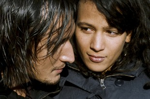 Grégoire Colin and Mati Diop in 35 Shots of Rum