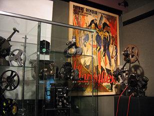 Foyer display, Cinémathèque theatre