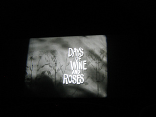 Days of Wine and Roses: a screening of Blake Edwards' 1963 film in progress