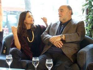 Angela Molina and Juan Luis Buñuel - Photo courtesy of Juan Luis Buñuel