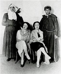 Luis Buñuel, Jeanne Rucar and Georgette Rucar - Photo courtesy of Juan Luis Buñuel