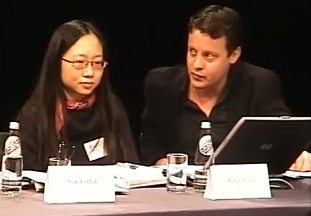 Ruby Cheung and Michael Gubbins
