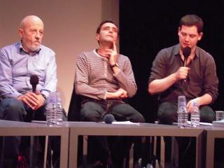 Luc Moullet, Fabrice Revault d'Allonnes and Emmanuel Burdeau