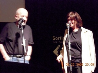 Luc Moullet and Catherine Breillat