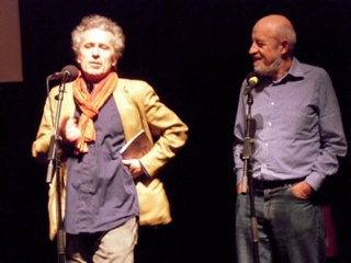 Gérard Courant and Luc Moullet