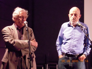 Pascal Kané and Luc Moullet