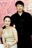 Jia Zhangke and actress Zhao Tao