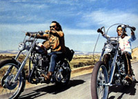 Easy Rider: click to buy 'American Films of the 70s: Conflicting Visions' at Amazon.com