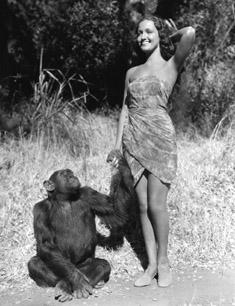 Dorothy Lamour and Gogo