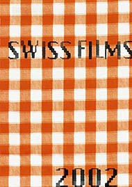 Cover of the Swiss Films Yearbook