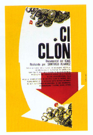 Ciclon poster by Rene Azcuy