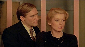 Gérard Depardieu and Catherine Deneuve in The Last Metro