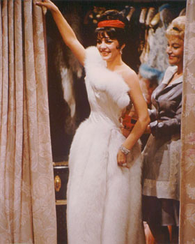 Natalie Wood in Gypsy