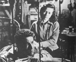 Cathy O'Donnell and Farley Granger in They Live by Night