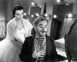 Claire Bloom and Charles Chaplin in Limelight