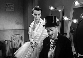 Charles Chaplin and Claire Bloom in Limelight