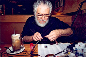 Stan Brakhage. Photo: Kai Sibley