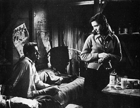 They Live By Night: Bowie (Farley Granger) and Keechie (Cathy O'Donnell). Connie said this was the story of her and Nick.