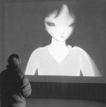 No Ghost Just A Shell (Pierre Huyghe, with Philippe Parreno and Dominique Gonzales-Foerster, 2000)