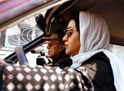 Abbas Kiarostami shooting Ten