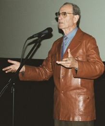 Vladimir Motyl at the Leeds International Film Festival