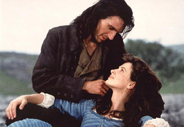 Ralph Fiennes and Juliette Binoche in Peter Kosminsky's Wuthering Heights