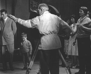 Jennie Boddington directing Three In a Million (1959) (photo: Jennie Boddington)