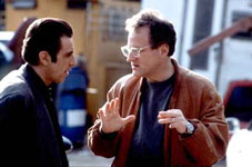 Al Pacino with Michael Mann