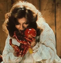 Nola (Samantha Eggar) in The Brood