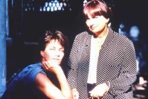 Jane Birkin and Agnès Varda