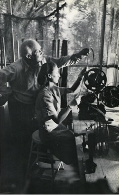 Robert Flaherty and Helen Van Dongen