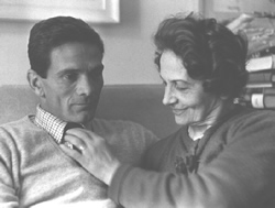 Paolo Pasolini and his mother