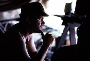 Sergeant Storm (John C. Reilly) in The Thin Red Line