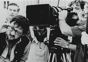 Fassbinder with crew