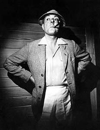 Tati as Monsieur Hulot