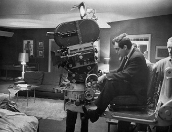 Kubrick shooting Dr. Strangelove